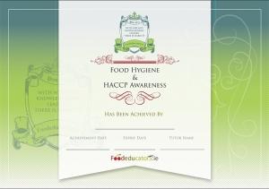 Food Educators - HACCP certificate